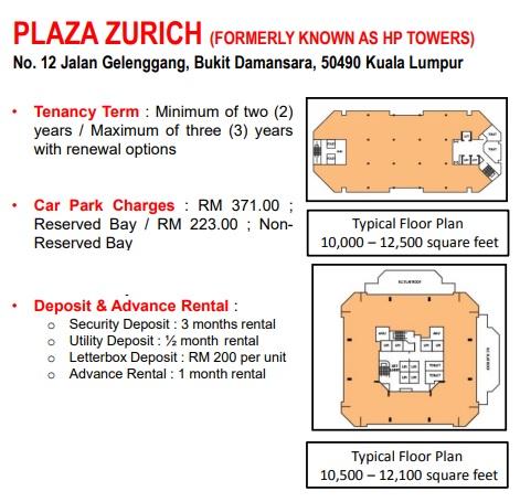 ZURICH TOWER (EX HP)