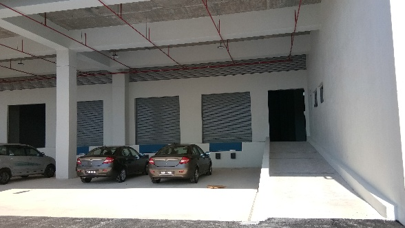 Prime Ground Floor Grade 'A' BRAND NEW Warehouse Space For Lease At Bandar Bukit Raja 1 Industrial Gateway :